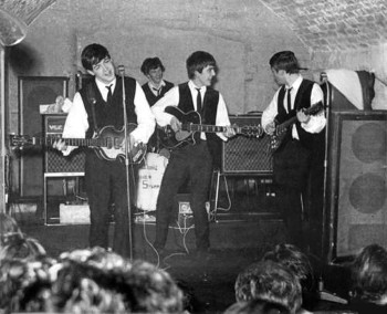 The Beatles in the Cavern