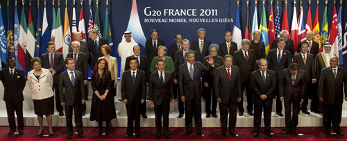 World Leaders G20 France 2011